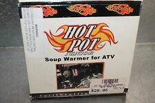 Hot Pot Junior Food Warmer For ATV Snowmobile - heat by Exhaust WPS 12-1827 NEW