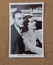 Charles Boyer & Irene Dunne P268Film Partners Real Photograph Postcard xc2