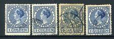 NEDERLAND 163 gestempeld 1926 - Koningin Wilhelmina (4 stuks)