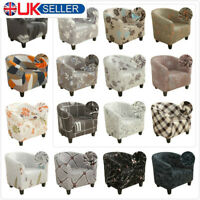 Elastic Plush Stretch Tub Chair Cover Soft Slipcover Cover Armchair Sofa Cover *