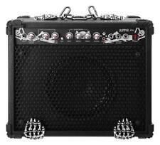 "Heavy Metal E-Gitarre Verstärker Amp Combo 10"" Box 3-Band EQ Reverb AUX In 60W"