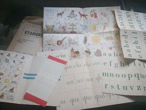 alfabetiere Fratelli Fabbri sussidiario alfabeto figurato ,pieghi libri a 3,00