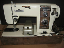 Vintage Universal Zig Zag Deluxe Metal Sewing Machine Model 311 BB Push Button
