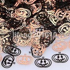 Black metal nail foil decals nail art decorations tools Halloween Pumpkin Design