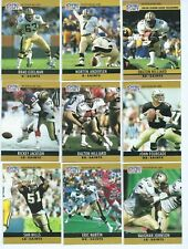 NEW ORLEANS SAINTS x 26 Pro Set 1990 NFL American Football Trading Cards
