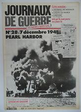 Journaux de Guerre n°28- 1941 - Pearl Harbor
