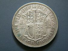 SILVER HALF CROWN GEORGE V COINS CHOICE OF YEAR 1920 TO 1936