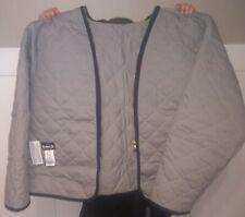 New Xxl Ln Bulwark Flame Resistant Zip In Liner Lml2Gy3 For Men'S Work Jacket