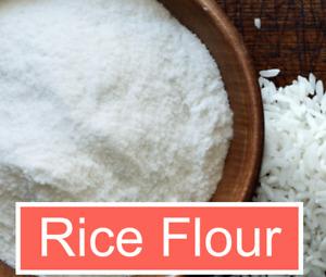 WHITE RICE FLOUR, Fine Ground Rice Powder, NO ADDITIVES, US Seller
