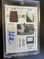 2020 Panini Absolute Football La'Mical Perine RPA Auto RC /99 Sick Patches