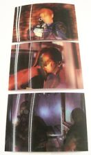 RESIDENT EVIL Chromium Trading Cards MOTION Set Ultra Rare!  Complete 3 card set