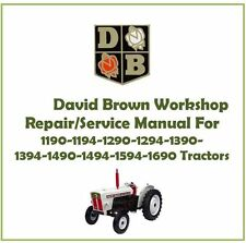 David Brown Workshop Manual 1190-1194-1290-1294-1390-1394-1490-1494-1594-1690