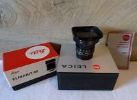 """Leitz Canada 11134 - Leica Elmarit- M 1:2.8/21mm """"1a Sammlerstück"""" - OVP !"""