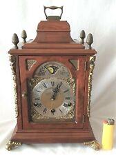Warmink Mantel Clock Westminster Dutch Shelf Moonphase 8 Day Key Wind Spares