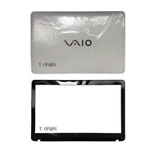 For Sony vaio SVF152A29M SVF15A1M2ES SVF152a29u LCD Back Cover +LCD Bezel Cover