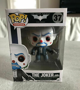 Funko Pop! #THE DARK KNIGHT RISES The Joker Bank Robber#37 Limited Action Figure