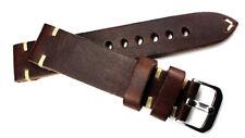 Uhrband 20mm RIOS1931 Vintage Retro Look Leder BAND made Germany Strap 20/18
