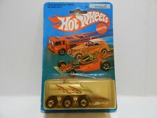 Hot Wheels 1984 Mattel Mexico Space Vehicle Van Lightning #2855 Mexican Rare HTF