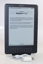"Kindle DX, Free 3G, 9.7"" E Ink Display, 3G Works Globally - ACCEPTABLE CONDITION"