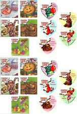 Candy Land Hasbro Stickers! 20 Large Stickers! Heart Sweets