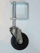"""Gatemate 11"""" Medium Duty Spring Loaded Gate Wheel with 3 3/4"""" Caster, 0812802"""