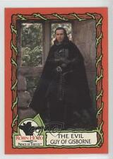 1991 Topps Robin Hood Prince Thieves 55 Card Set 11 The Evil Guy of Gisborne 0b6