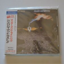 THIN LIZZY - Thunder and lightning - 1990 JAPAN CD FIRST PRESS