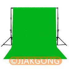 Green Photography Chromakey Backdrop 1.8m x 2.8m 100% Cotton Muslin background