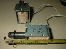 2 x Open Frame Solenoid Actuator 12V/24V DIY Robot Robotics Automation