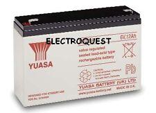 YUASA 6V 12AH Batería NP12-6