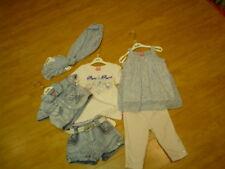 SO 11- Pampolina Azul Chica Pantalones Cortos Vaqueros con G talla 116 + 128