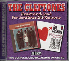 CLEFTONES heart & soul - for sentimental CD 1998 doo-wop