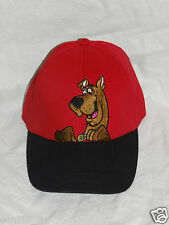 New With Tag Scooby Doo Kids Caps Red With Black
