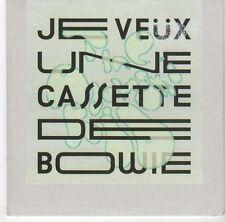 (EA721) Je Veux Une Cassette De Bowie, The Adamski Kid - 2013 unopened DJ CD