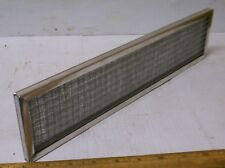 New listing Lifetime Ind. - Washable Aluminum Filter / Screen (Nos)