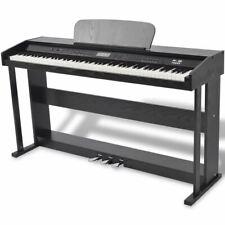 Vidaxl Piano avec 88 touches avec Pédales Noir Panneau en Mélamine