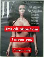 W Magazine November 2010 | KIM KARDASHIAN Nude | The Art Issue 154 PAGES LOOK!!!