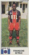 N°262 FRANCOIS M'PELE # CONGO PARIS.SG PSG STICKER PANINI FOOTBALL 1977