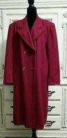 Vintage Pendleton Womens Double Breasted Lined Winter Coat 100% Wool Size 16