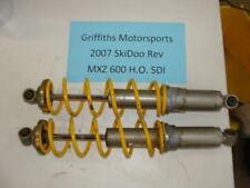 07 2007 SKIDOO 600 HO REV mxz SDI oem front shocks shock set 800 06 05 trail