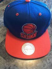 Mitchell & Ness New York Knicks Snapback Hat Blue One Size NBA Basketball NYC