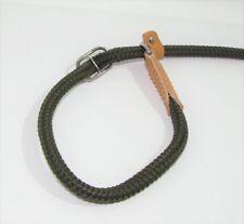 Guinzaglio Collare Corda Marina 1/2 strangolo 10mm.   2200 mm. MADE IN ITALY