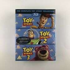 Toy Story 1-3 (Blu-ray, 2010) s *New & Sealed*