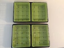 Lot de 4 Mini Serre Germination Auto Irrigantes