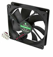 120mm 25mm New Case Fan 12V DC 96CFM 2600 (RPM) Ball 4 Pin PC Computer Cooling