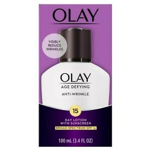 Olay Age Defying Anti-Wrinkle Daily SPF 15 Lotion exp.07/2022
