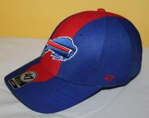 NEW NWT Buffalo Bills '47 Brand Solo Stretch Fit Fitted Hat Cap OSFA NFL *4Z