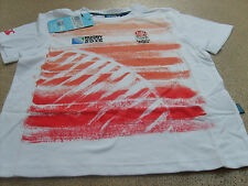 Canterbury Rugby World Cup 2015 Junior Kids England Graphic T-Shirt