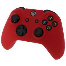 Xbox © Controlador De Piel-Rojo ONE-Funda Cubierta de Silicona Gel de goma protectora