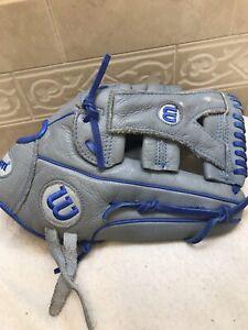 Wilson A500 12.5 Y-Web Yasiel Puig Baseball Softball Glove Right Hand Throw